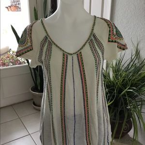 Beaded top by Free People
